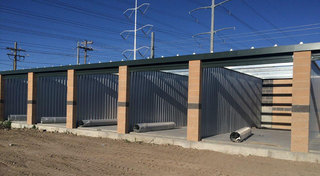 Self storage units at our facility in Bluffdale UT