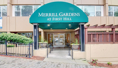 merrill gardens at first hill assisted living photo tour seattle wa