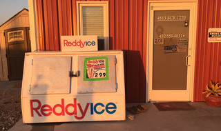 Ice is available at our rv ranch in tx