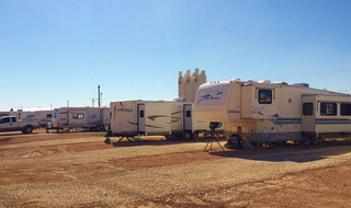 Rvs at Lucky Star RV Park