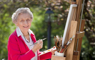 Activities for senior living residents