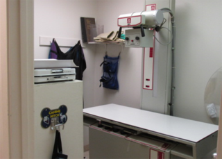 Radiology lab at our veterinary hospital in niceville fl