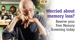 Reserve Your Free Memory Screening Today