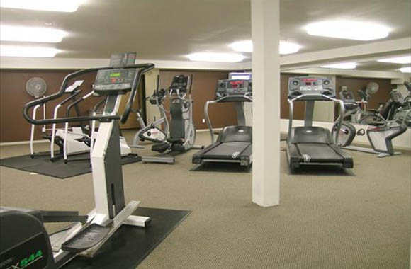Fitness center at our apartments in seattle wa