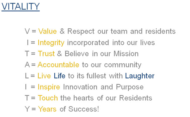 GenCare Lifestyle mission statement