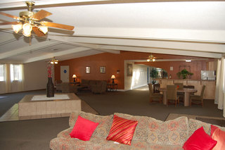 The resident clubhouse at our apartments