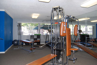 The private fitness center at our apartment community