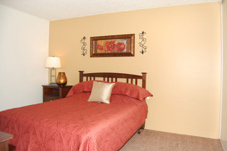 Our apartments feature spacious comfortable bedrooms