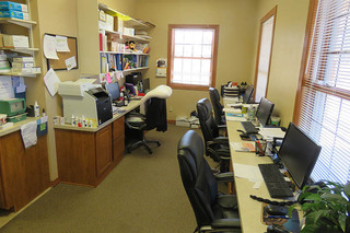 Office at our colorado springs co vet clinic