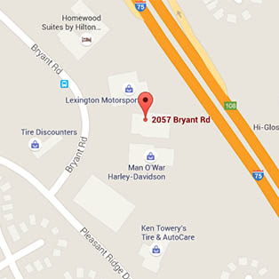 Map of area near PetSuites Pet Resort & Spa
