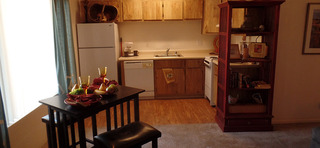 Hardwood kitchens at our apartments in sante fe nm