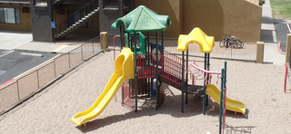 Playground at our apartments in sante fe nm