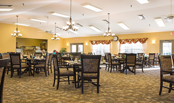 Dining at Park Place Senior Living in Fort Wayne, IN