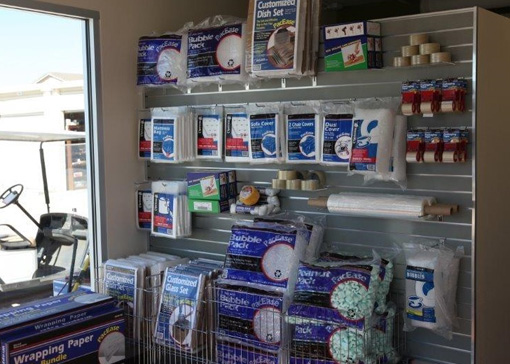Moving and Packing Supplies at Chaparral Self Storage in Temecula