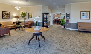St louis county assisted living lobby