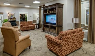 Tv room at our assisted living homes in st louis county