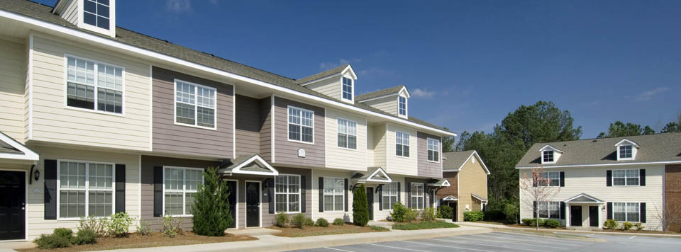 Sundance Creek in McDonough, GA townhome building exterior