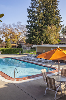 Enjoy a variety of amenities at apartments in Sunnyvale