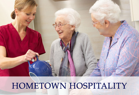 Americare offers Hometown hospitality.