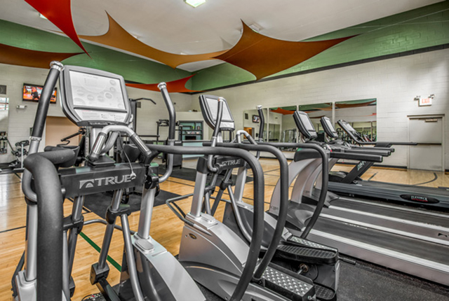 The fitness center here at lakes brandon west is fully equipped with everything you need to stay fit