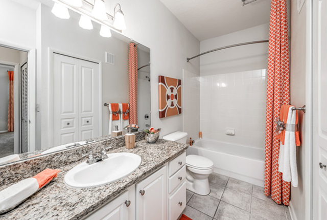 You will love the tile and hardwood floors throughout our luxury apartment homes here in tampa