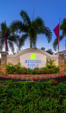 Kendall ridge sign
