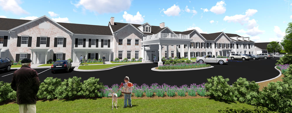 Brookside al exterior render