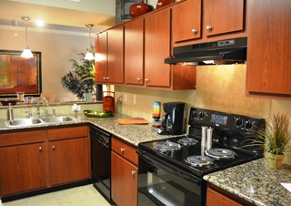Grande oaks model kitchen