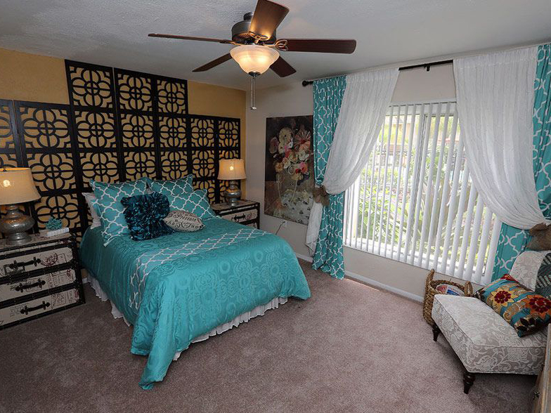 Bedroom furnished in Largo FL