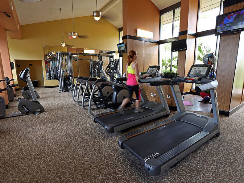 Fitness center cardio machines in Largo FL