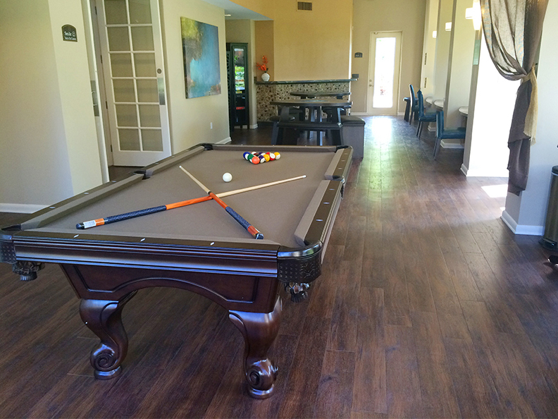 Madison lounge pool table