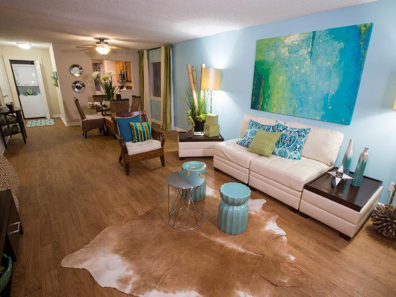 Open floor plans at our apartments in bradenton