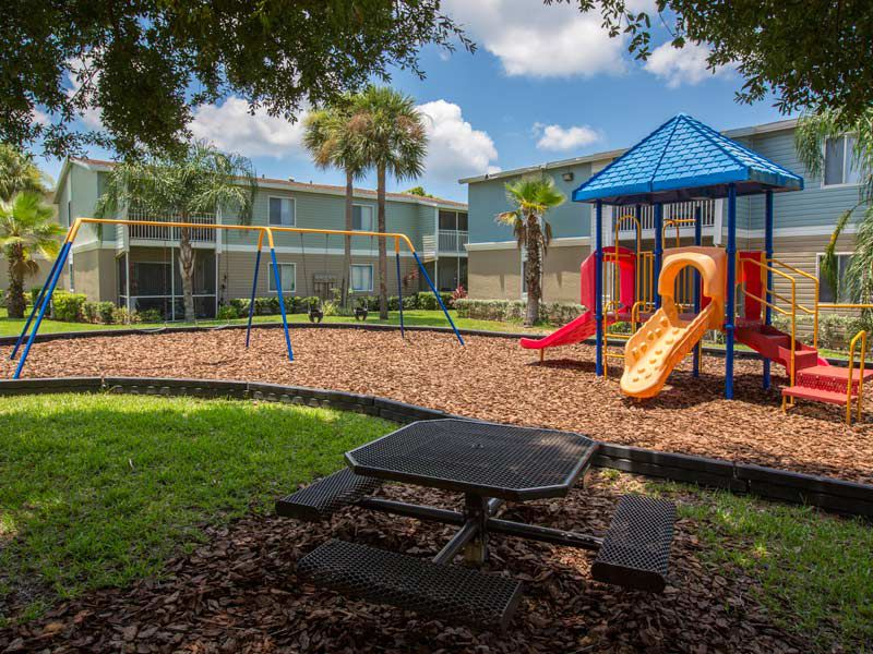 Playground at our apartments in bradenton