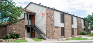 Exterior view of the apartments in midland tx