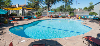 Swimming pool at apartments in midland tx
