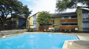 Information about the neighborhood surrounding apartments in San Antonio