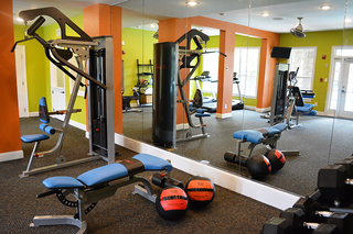 Eagles landing resident fitness center