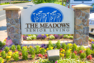 The meadows sign