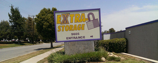 Extra Storage - Rancho Cucamonga Storage Sign