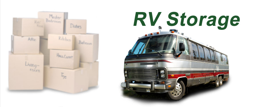 Rv new motorhome Self Storage