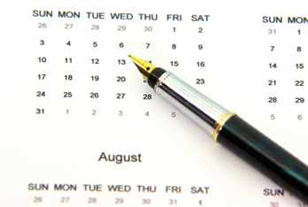 Forest Meadows Apartment Homes Calendar of Events.