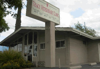 Veterinary clinic exterior in Tracy California