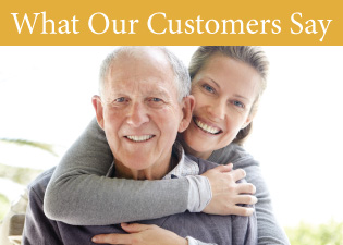 Americare residents have a lot of positive things to say about the quality of our senior living services.