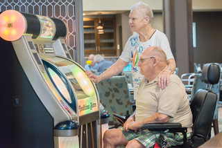 Jukebox at our senior living facility in loveland