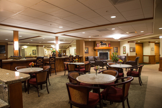 Touchmark bend retirement lounge area tah 34