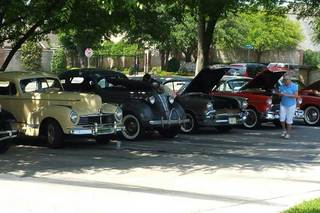 Car show at parsons house preston hollow