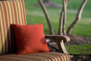 Outdoor seating at parsons house preston hollow