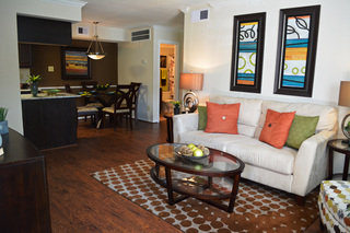 Enclave living dining room