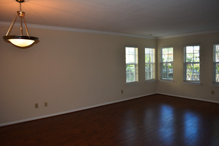 Enclave living room vacant