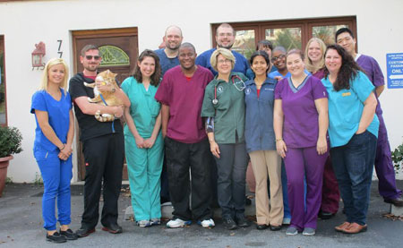 The Alpine Veterinary Hospital team